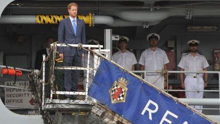 Prince Harry visit to the Caribbean 30 Nov 2016