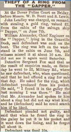 Dapper Press Report 1924