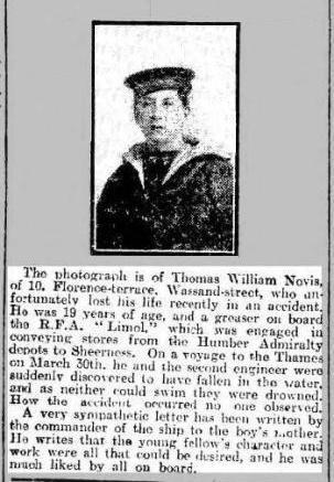 Press Cutting Hull Daily Mail 28 4 1920