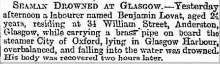 Press report 13 9 1890 City of Oxford