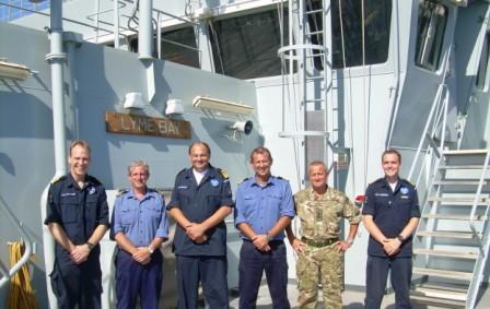 Force-Commander-Visits-LYME-Bay