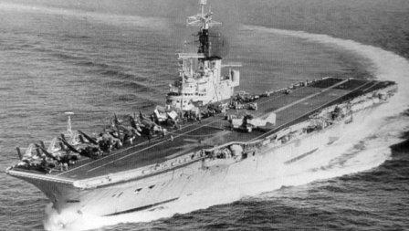 HMS Centaur Aircraft carrier