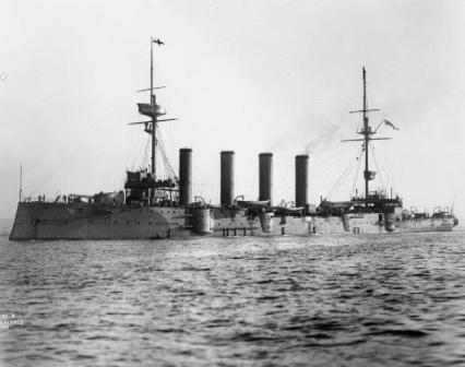 HMS King Alfred 1901