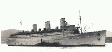 RMS Queen Mary Wartime