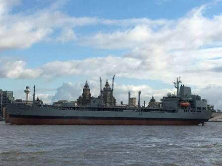 Oleaf to breakers via Mersey