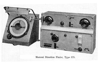 Marconi Direction Finder 579