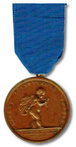 Royal Humane Society's Bronze Medal